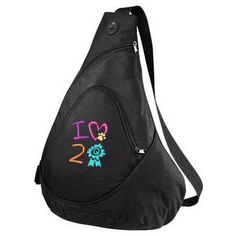 I Love to Q Sling Pack