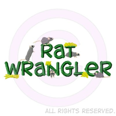 Embroidered Rat Wrangler Shirts