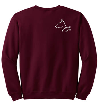 Doberman Pinscher Barn Hunt Sweatshirt