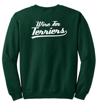 Baseball Wire Fox Terrier Sweatshirt