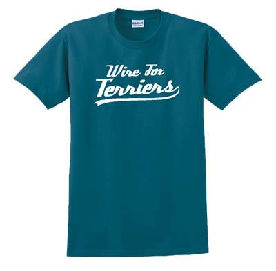 Baseball Wire Fox Terrier T-Shirt
