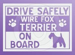 Wire Fox Terrier Stickers