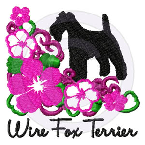 Wire Fox Terrier Flowers Gifts