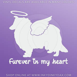Angel Collie Decals