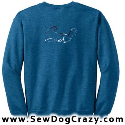 Papillon Dog Sports Sweatshirts