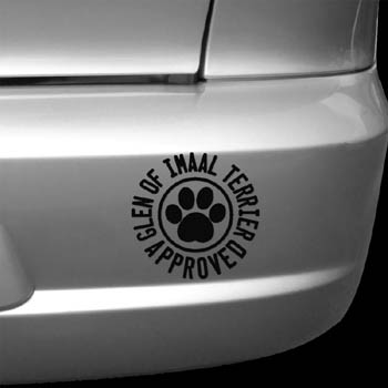 Glen of Imaal Terrier Approved Decals