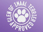 Glen of Imaal Terrier Approved Decal