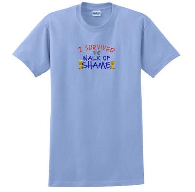 Walk of Shame Embroidered T-Shirt
