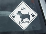 Australian Terrier On Board Stickers