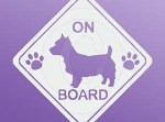 Australian Terrier On Board Decal