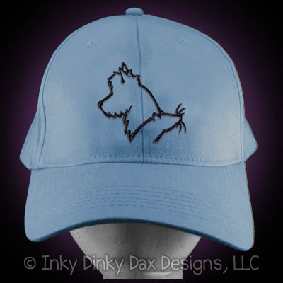 Australian Terrier Barn Hunt Hat