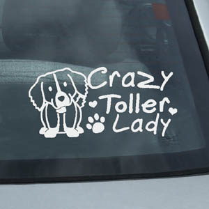 Duck Toller Decals