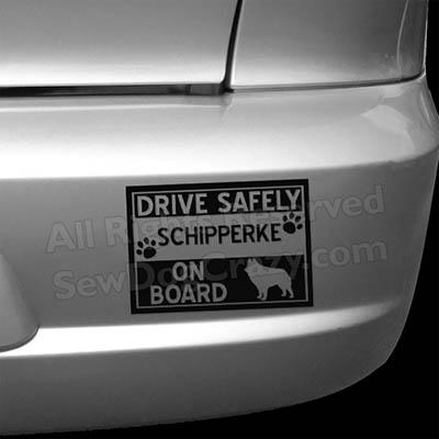 Schipperke On Board Bumper Sticker