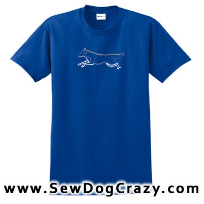 Jumping Siberian Husky Tshirts