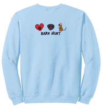 Love Barn Hunt Sweatshirt