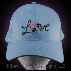Embroidered Love Dogs Hat