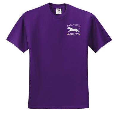 Embroidered Catahoula Agility T-Shirt