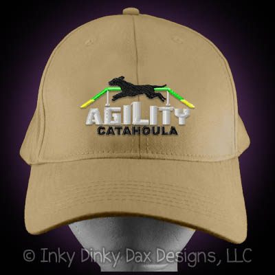 Catahoula Leopard Dog Agility Hat