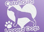Love Catahoula Leopard Dogs Decal