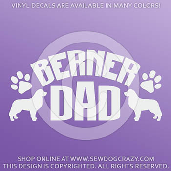 Berner Dad Decals