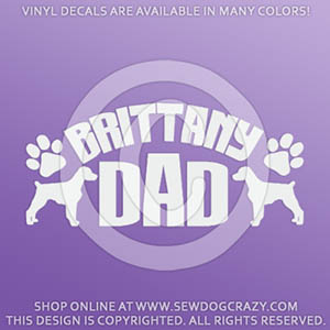 Brittany Dad Decal