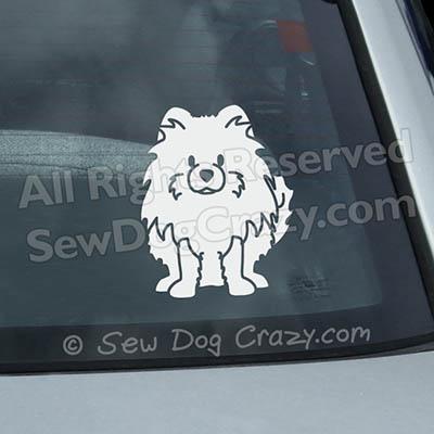 Cartoon Pomeranian Stickers
