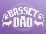 Basset Dad Decal
