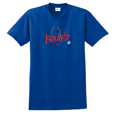Embroidered Briard T-Shirt