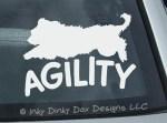 Agility Briard Decals