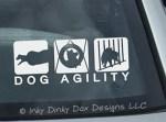 Dog Agility Decals