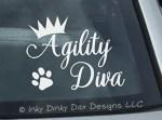 Agility Diva Decal