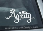 Dog Agility Decal