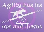 Dog Agility Car Stickers