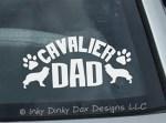 Cavalier Dad Decal