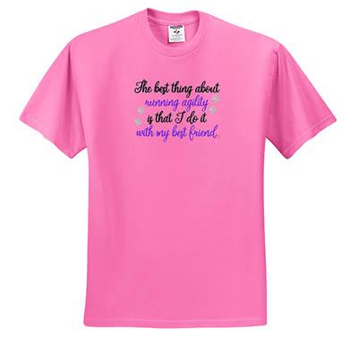 Dog Agility T-Shirt Embroidery