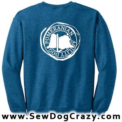 Agility Pomeranian Swatshirt