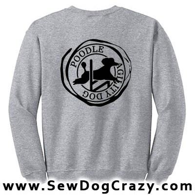 Poodle Agility Sweatshirt