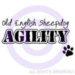 Old English Sheepdog Agility Shirts