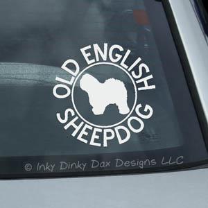 OES Car Window Sticker