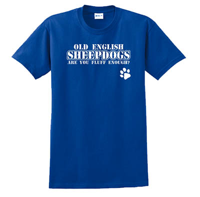 Old English Sheepdog TShirts