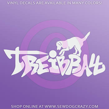 Graffiti Treibball Car Decals