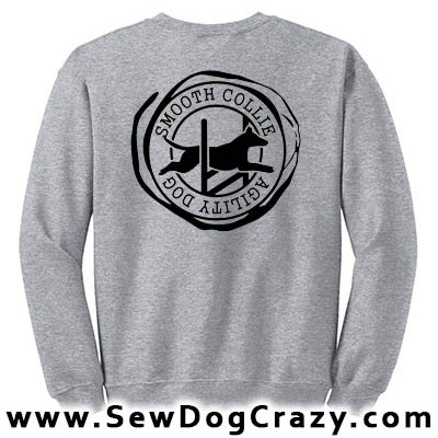 Smooth Collie Agility Sweatshirts