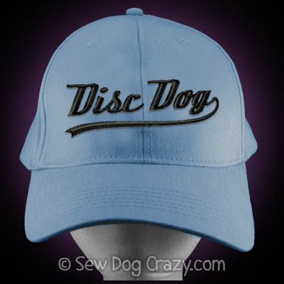 Embroidered Disc Dog Hat