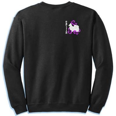 Embroidered Papillon Sweatshirt