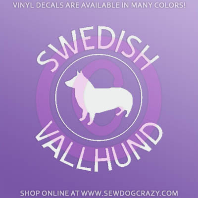 Swedish Vallhund Car Decals