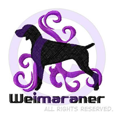 Cool Weimaraner Embroidery Gifts