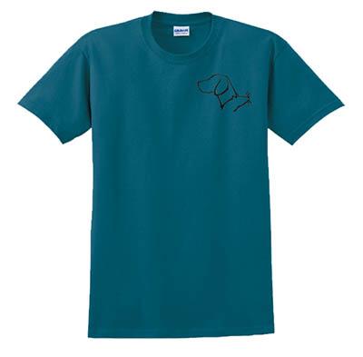 Weimaraner Barn Hunt Tshirt