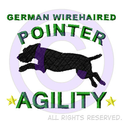 German Wirehaired Pointer Agility Shirts