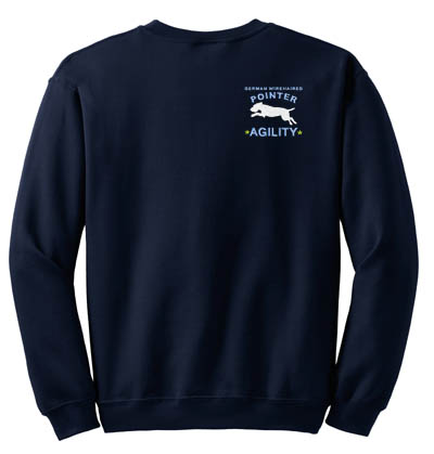 German Wirehaired Pointer Agility Sweatshirt