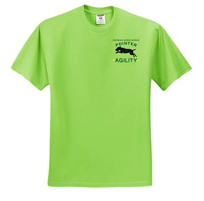 Agility German Wirehaired Pointer TShirts